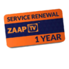 Zaap TV Renewal Card Only